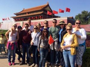 Katharina zu Gast in Peking