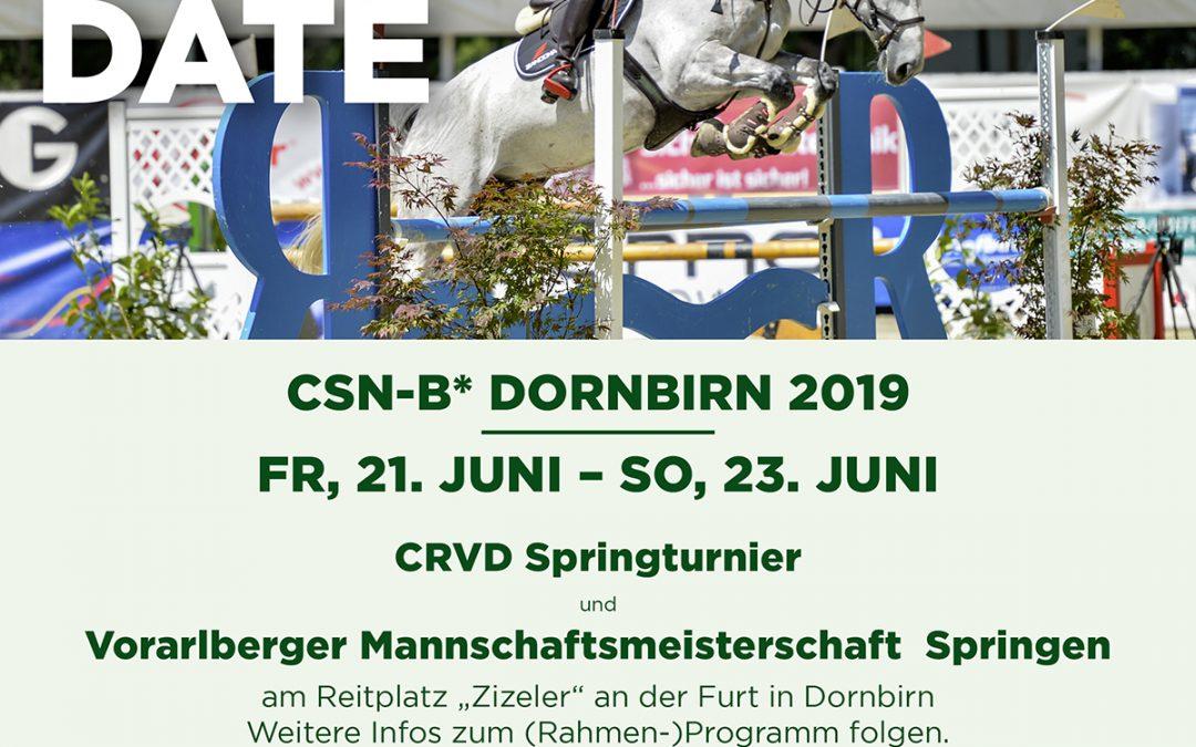CRVD Springturnier 2019