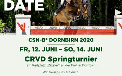 CRVD Springturnier 2020