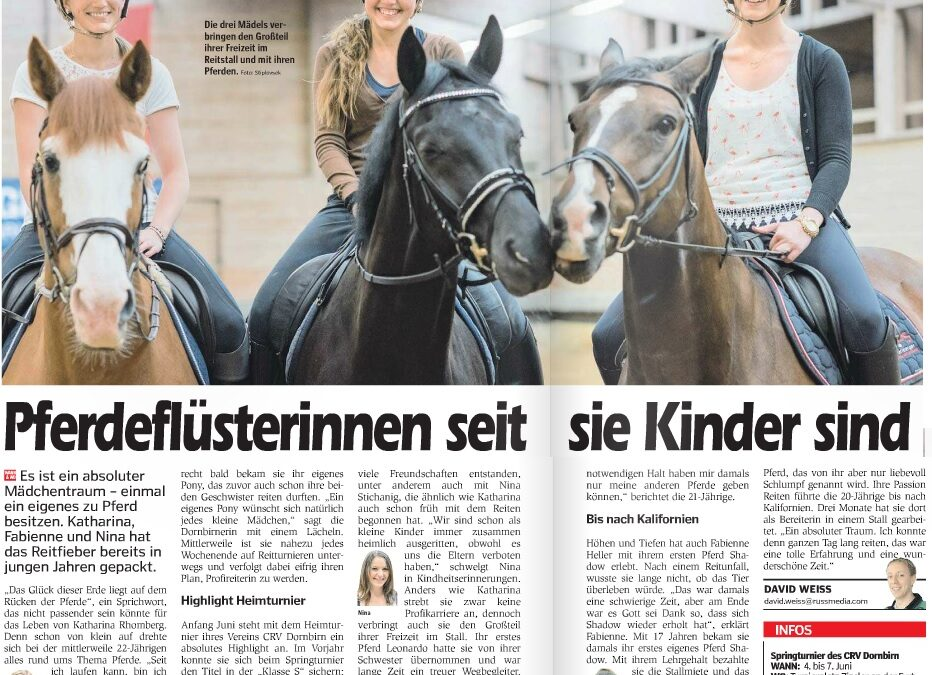 Unsere Pferdeflüsterinnen