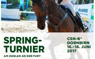 CSN-B* Dornbirn 16. – 18. Juni 2017